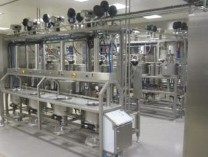 Cheese Line Processing Skid